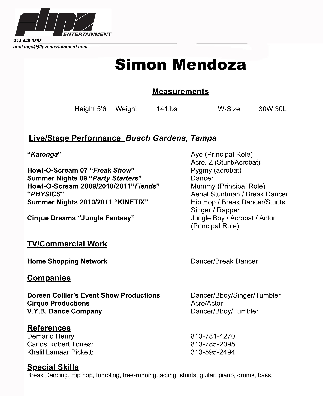 Simon Mendoza