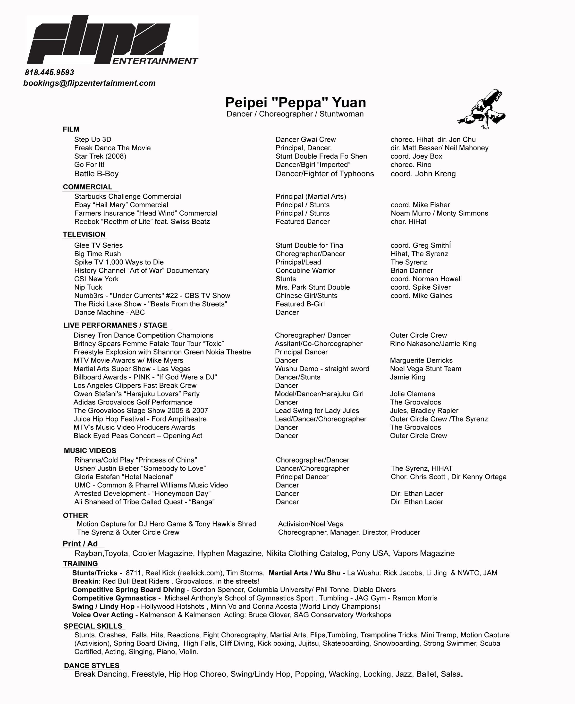 peppa yuan resume demo