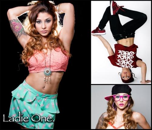 LADIE-ONE / DANCE HEADSHOT