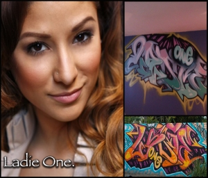 Ladieone [graff]